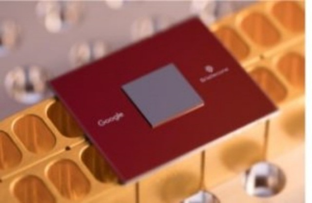 Bristlecone is Google's newest quantum processor.